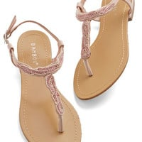 ModCloth Fairytale Bead Your Best Self Sandal