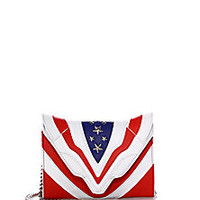 Elena Ghisellini - Felina Mignon Stars & Stripes Leather Shoulder Bag - Saks Fifth Avenue Mobile