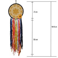 DCCKHC3 Original Bohemian style color dream catcher ornaments Home wall decorations creative sun