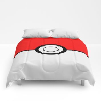 Poke Ball Pokeball Comforters by UMe Images