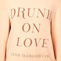 Wildfox Drunk On Love Beach Jumper