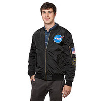NASA Patches Insulated Bomber Jacket