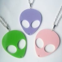 Alien Necklaces