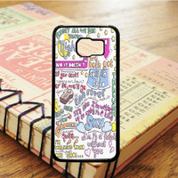 Half A Heart Art Song Lyrics Music Art Samsung Galaxy S6 Case