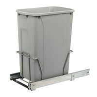 Knape & Vogt 18.75 in. x 9.38 in. x 20 in. In Cabinet Pull Out Trash Can-PSW10-1-35-R-P at The Home Depot