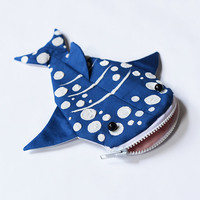 Hungry Whale Shark Pouch