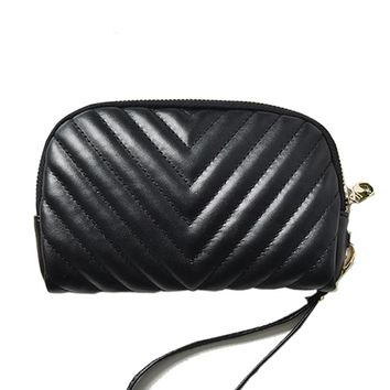 Women Wallet Female Leather Purses Card Holder Coin Purses Small Clutch Wristlet Black Fashion High Quality Dollar Price Wallets