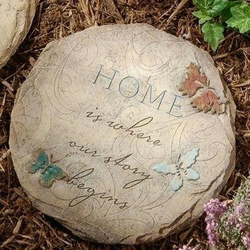 Garden Stepping Stone - Outside Use