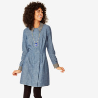 Kate Spade Saturday Tailored Shirt Dress In Chambray