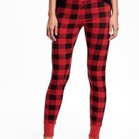 Patterned Waffle-Knit Leggings for Women | Old Navy