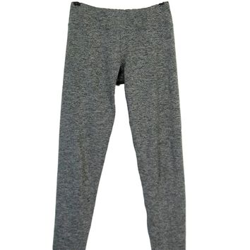 Out From Under Grey Wee Are From Space Ankle Crop Yoga Leggings S/P