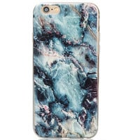 3D Marble Grain iPhone 5s 6 6s Plus Case Gift-129