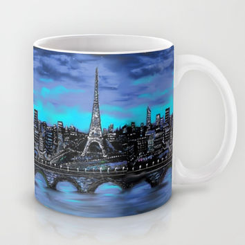 Eiffel Tower ~ Paris France Mug by RokinRonda