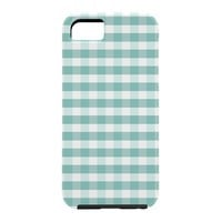 Caroline Okun Icy Gingham Cell Phone Case