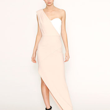 Australian Designer Label ROMANCE Cream Notice Me Maxi Dress