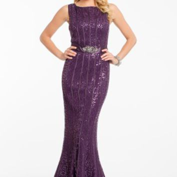 Sequin Piped Dress