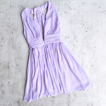 lost valley deep plunge dress