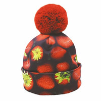 Strawberries beanie
