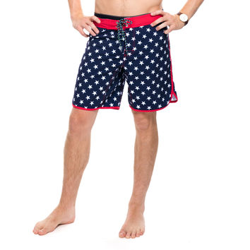 Stars Scallop Swim Trunks