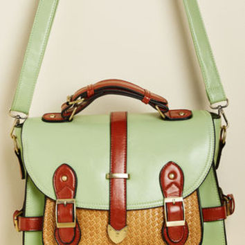 Authentically Academic Bag in Mint