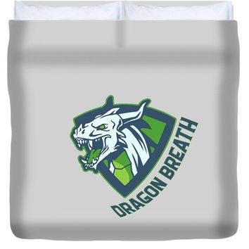 Dragons Breath - Duvet Cover