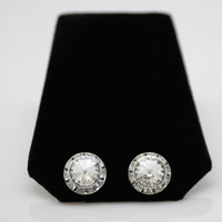 Competition Rhinestone Clip-On Earrings
