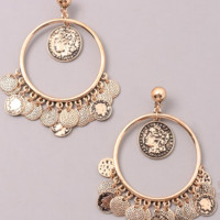 Athens Earrings - Gold