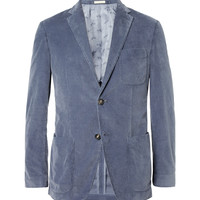 Massimo Alba - Slim-Fit Unstructured Washed-Corduroy Blazer | MR PORTER