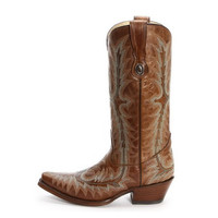Corral Daisy Embroidered Leather Boots G1133