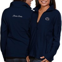 Columbia Penn State Nittany Lions Ladies Logo Give & Go Fleece Full Zip Jacket - Navy Blue
