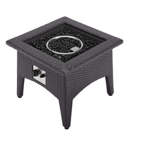 Vivacity Outdoor Patio Fire Pit Table