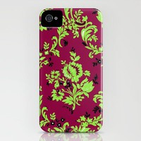 Vintage Wallpaper No.4 iPhone Case by Romi Vega | Society6