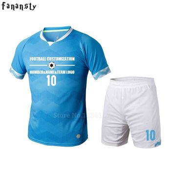 Soccer jerseys men football jerseys men custom football uniforms soccer set maillot survetement football 2017 new