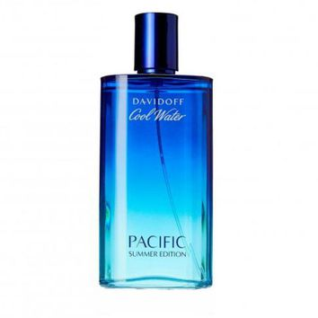 Cool Water Pacific Summer for Men by Davidoff EDT Spray 4.2 oz (Tester) only $19.95 at https://www.cosmic-perfume.com