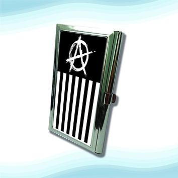 US Anarchy Metal Business Cardholder