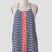 Catalina Vacation Striped Top