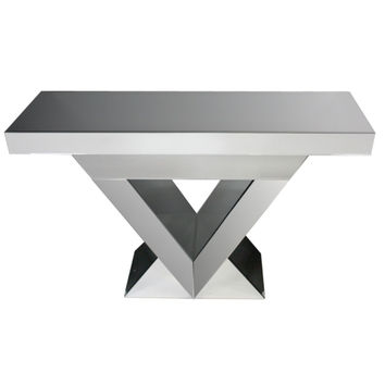 Excellent Gray Console Table - Benzara