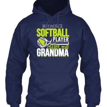Softball Fanatics Shirt-Calls Me Grandma