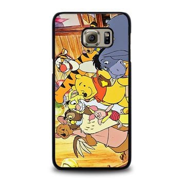WINNIE THE POOH AND FRIENDS Disney Samsung Galaxy S6 Edge Plus Case Cover