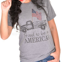 Proud To Be American Tee