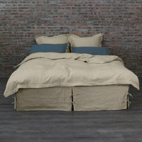 Linen Duvet Cover Natural Undyed