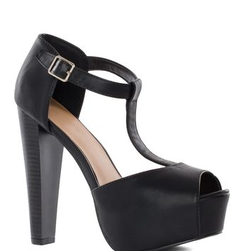Lizzy Heels in Black