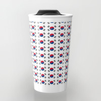 flag of south korea-korea,asia, 서울특별시,부산광역시, 한국,seoul Travel Mug by oldking