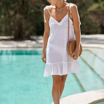 Basketing Summer Dress