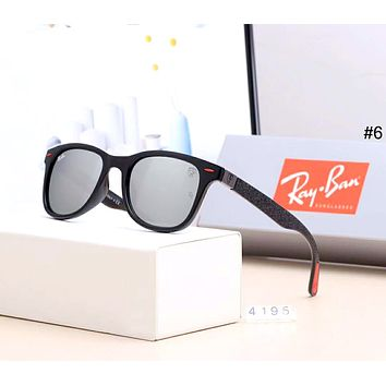 Ray-Ban 2019 new men and women drivers driving large frame polarized sunglasses #6