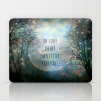 Her Own Fairytale Laptop & iPad Skin by Ally Coxon