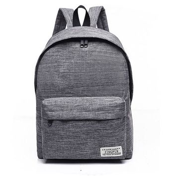 Unisex Canvas Men Women Backpack College High Middle School Bags For Teenager Boy Girls Laptop Travel Backpacks Mochila Rucksack