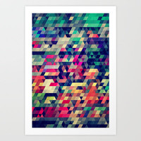 atym Art Print by Spires