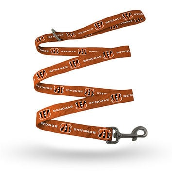 BENGALS PET LEASH - SMALL / MEDIUM