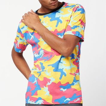 PacSun Conti Camouflage Relaxed T-Shirt at PacSun.com